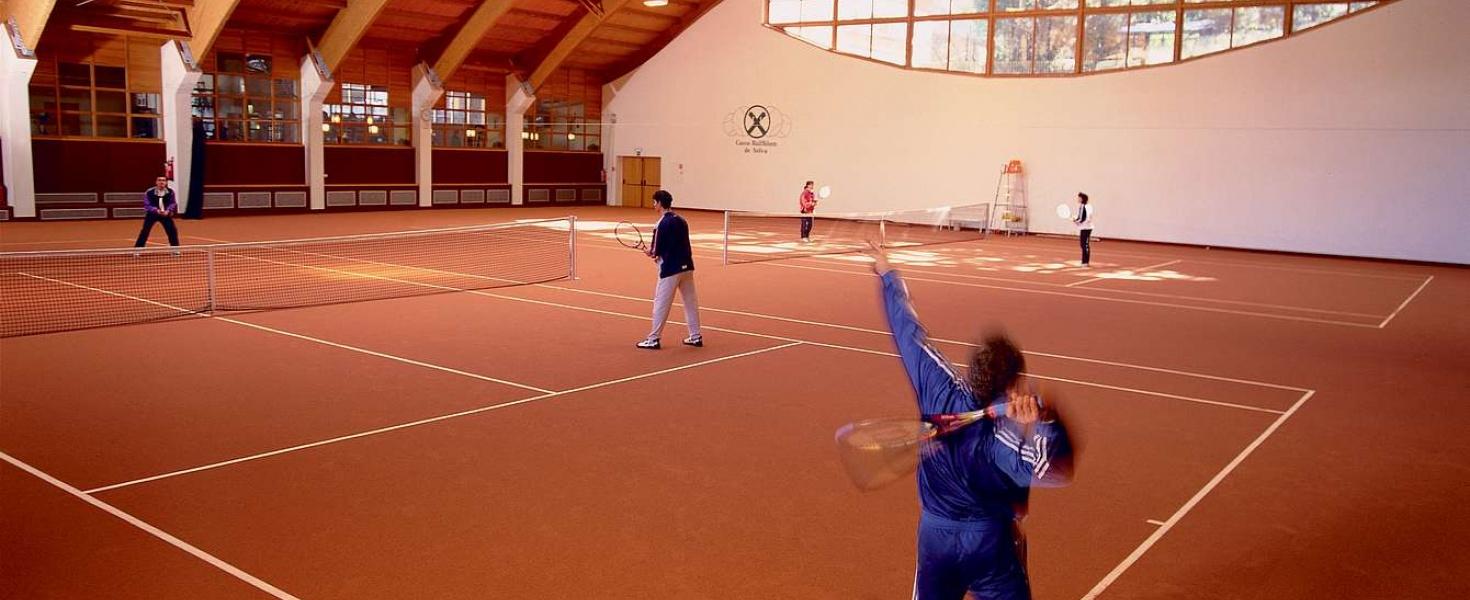 Tennis in Val Gardena