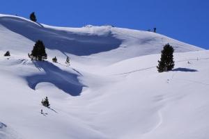Sledging in Val Gardena